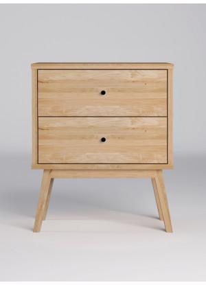 Dubový noční stolek Malaga 02 2s
