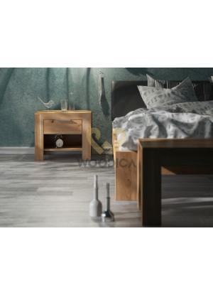 Dubová postel Vernalis 04