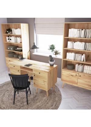 Dubový psací stůl Malaga 01