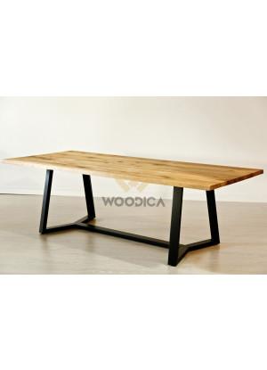 Dubový stůl na kovových nohách 19