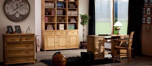 Nábytek ve výrazných barvách, tedy retro styl v našich domech